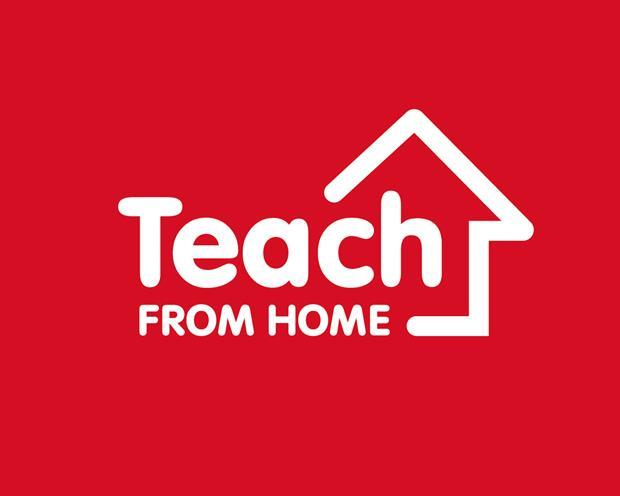 Teach From Home Red