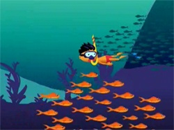 Underneath the Sea M Tunes screenshot